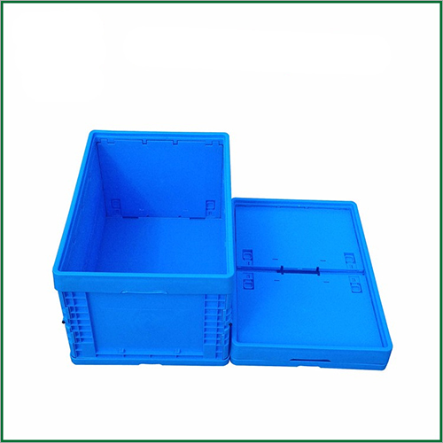 Printing Logo Straight Wall Solid Box Type Foldable Storage Crates And Boxes
