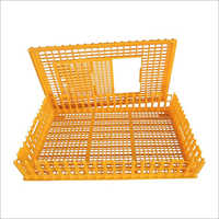 Stackable Plastic Poultry Crates