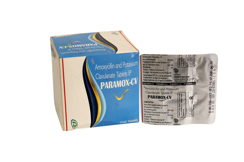 Amoxicillin & Potassium Clavulanate Tablets