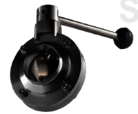 BUTTERFLY VALVE WELDED END