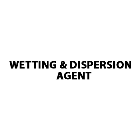 Wetting & Dispersion Agent