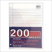 200 Sheets Wide Ruled Filler Paper