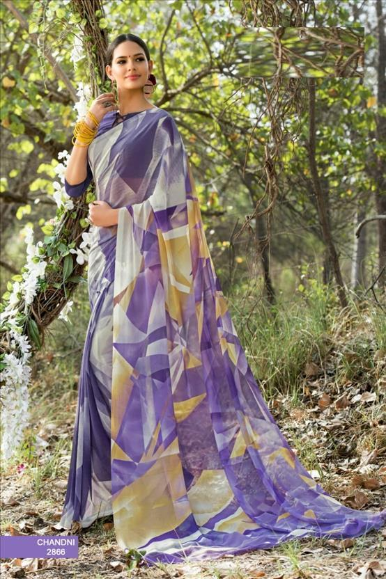 sethnic georgette saree supplier in surat fancy designs