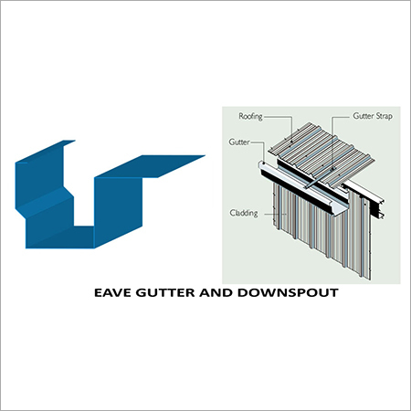 Eave Gutter And Downspouts