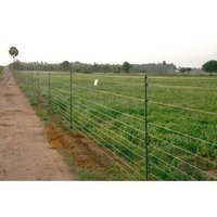 Solar Security Fencing System
