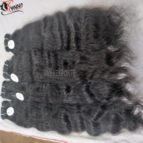 Natural Indian Hair Raw Unprocessed Virgin Indian Temple Hair,The Best Virgin Hair
