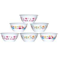 Plastic Microwave Safe Bowl Set ROUND KATORI PRINTED