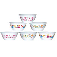 ROUND KATORI PRINTED - 6 PC SET