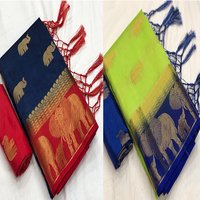 Row Silk Saree