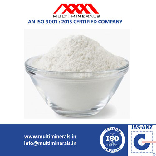 Kaolin Powder for Cosmetic Manufacturing