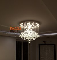 Glass Chandelier