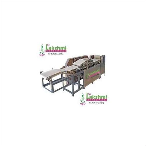 Pappadam Making Machine 140 Kg Per Hour Capacity