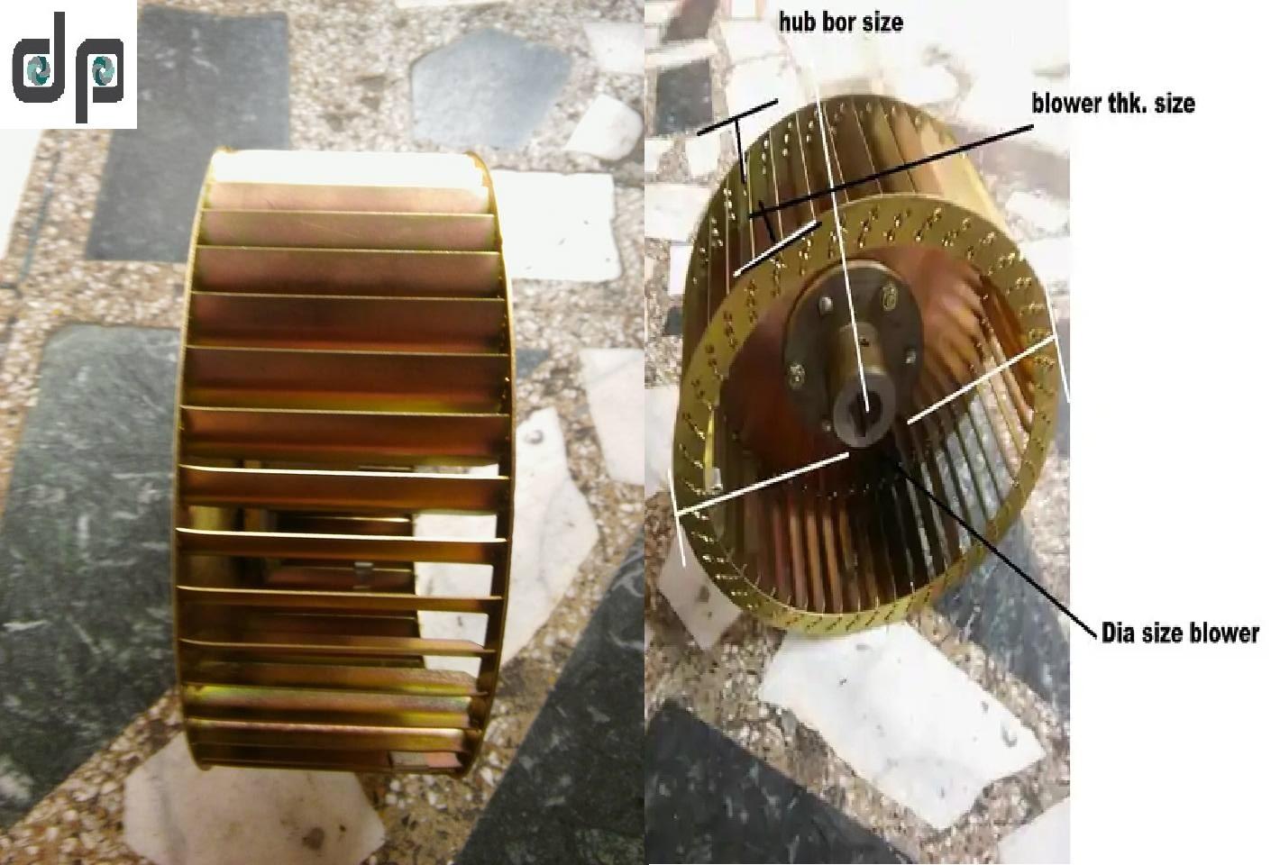 DIDW Centrifugal Fan 230 MM X 127 MM