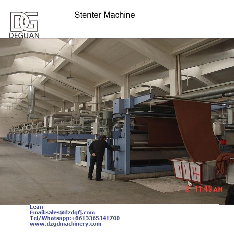 Stenter Heat Setting Machine
