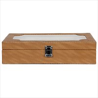 Hardcraft Brown Watch box For 10 Watches