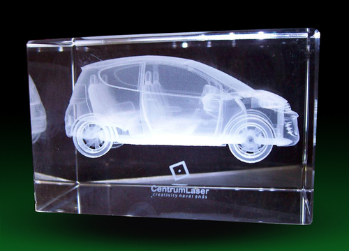 3D Laser Engraving Car