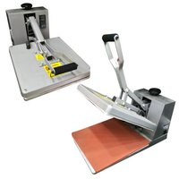 Flat Heat Press Machine A4 (15 Inch X 15 Inch)