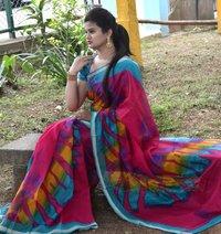 Party Wear Kota Silk Satin Border Saree