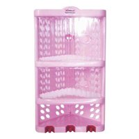 PLASTIC CORNER RACK BIG WITH DOOR