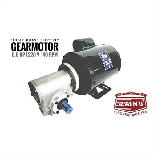 Electric Geared Motor