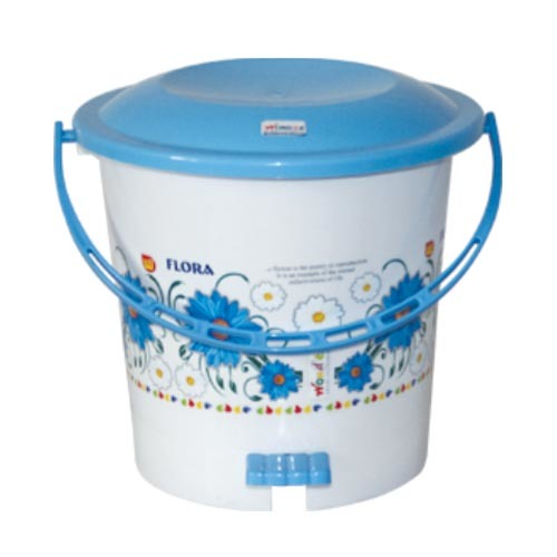 PRINTED PEDAL PLASTIC DUSTBIN