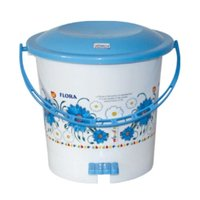 PRINTED PEDAL PLASTIC DUSTBIN 404