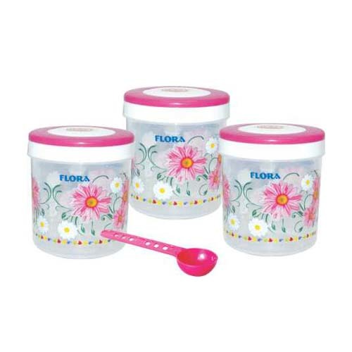 PRINTED PLASTIC CONTAINER SPICY 900