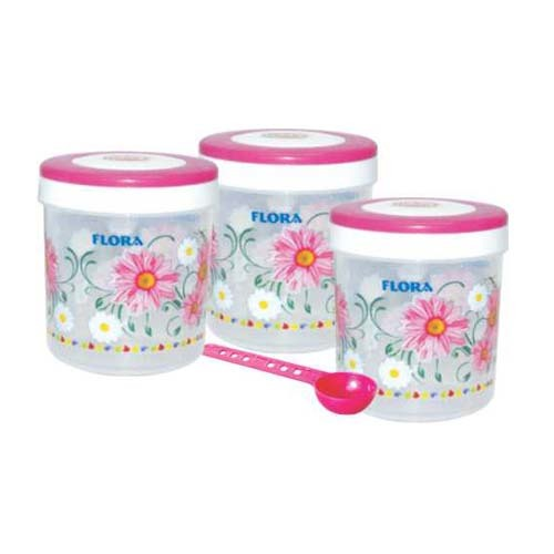PRINTED PLASTIC CONTAINER SPICY 1100
