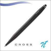 Tech 2 Matt Black ball pen with Stylus