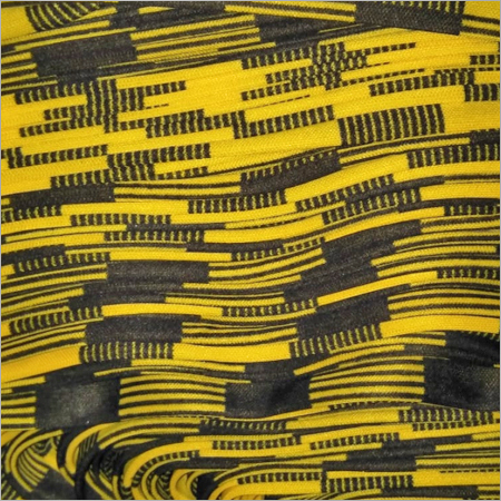Plain Poly Printed Fabric