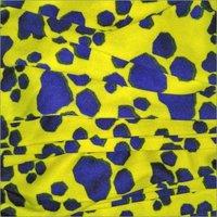 Plain Poly Printed Fabric