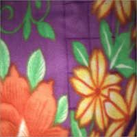 Floral Print Polar Blanket