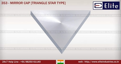 Mirror Cap Triangle Mirror Type