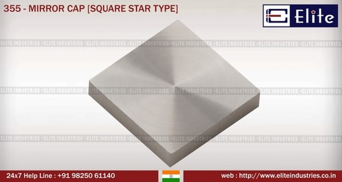 Mirror Cap Square Star Type