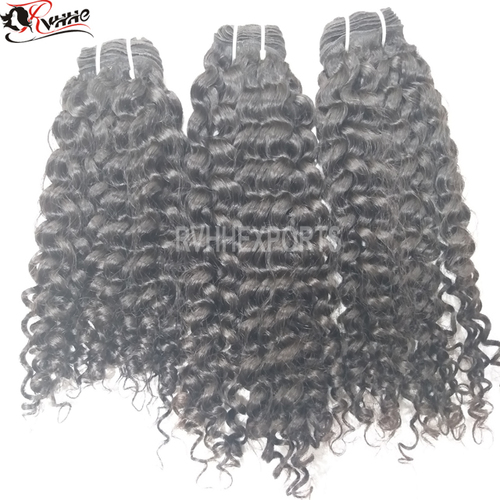 Yes Virgin Hair and Deep Wave Style raw indian temple hair