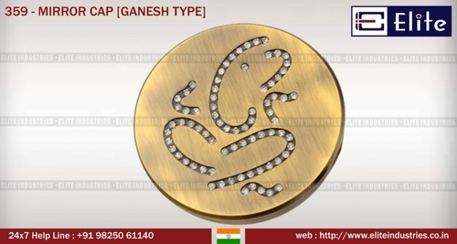 Mirror Cap Ganesh Type
