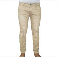 Mens Plain Crush Jeans