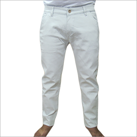 Plain White Trouser