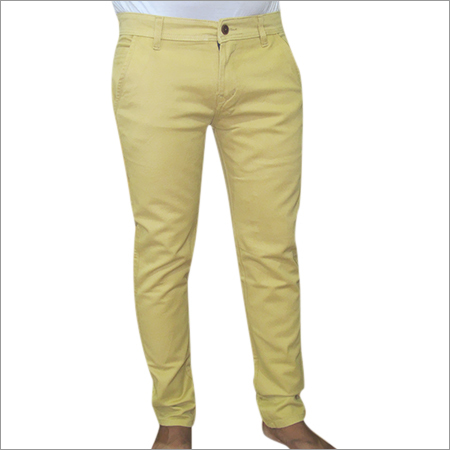 Yellow Chinos Trouser