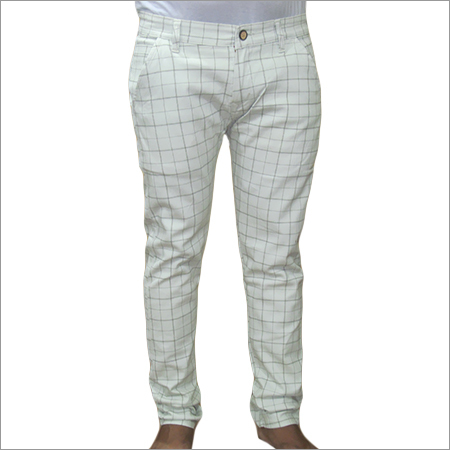Checked Chinos Trouser