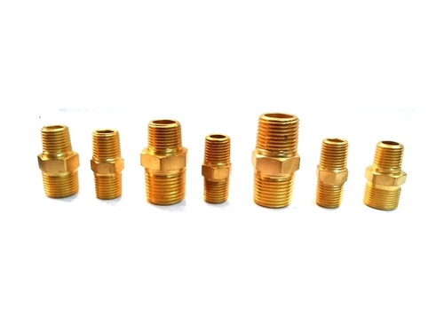Brass PU connector
