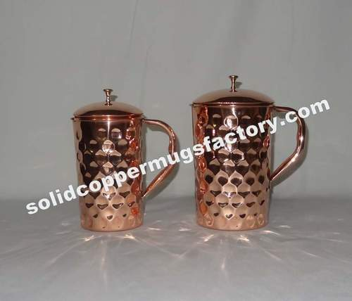 Solid Copper Water Jugs