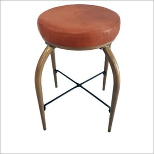 Counter Stool With Leather Seat