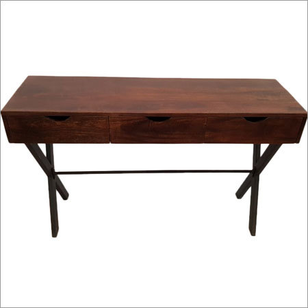 Writing Table With 3 Drawer