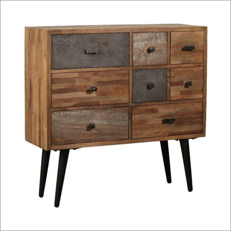 Wooden Side Board With Drawers