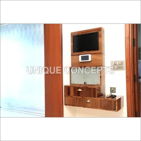Wooden TV Entertainment Unit