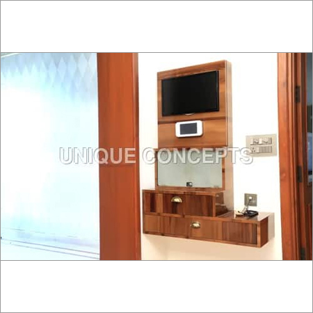 Wooden TV Entertainment Unit