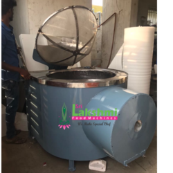Frying Machine Circular Batch Type Desiel Fully Ss