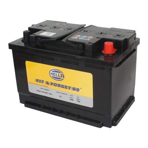 Hella FF60 010.021-321 12V 74AH DIN74  Battery