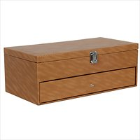 Hard Craft Brown Watch Boxes for 24 watchs